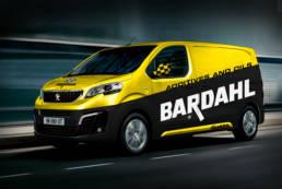 realizzazione grafica furgone bardahl italia
