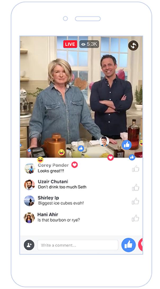 Diretta Contemporanea Facebook e Youtube