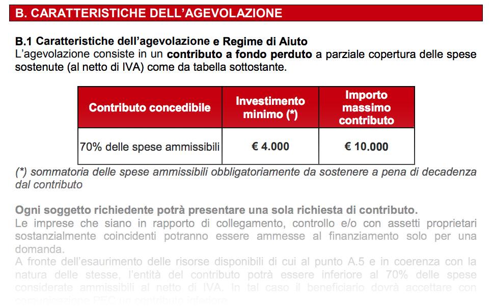 contributo fondo perduto e-commerce regione lombardia